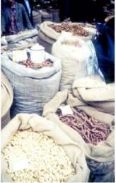 Chinesische Kräuter auf dem Markt