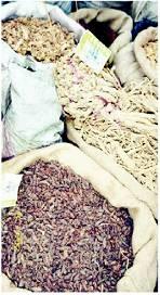 Chinesischer Kräutermarkt